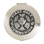 First Communion Metal Rosary Keepsake Box