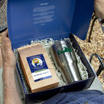 Father's Day Steel Tumbler and Coffee Gift Box