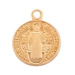 Children's Gold/Sterling St. Benedict Jubilee Medal