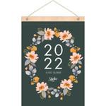 2022 Inspirational Wood Strip Wall Calendar