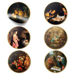 Classic Art Nativity Paintings Stickers - Pack of 6