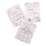 Proverbs in Color - Coloring Cards thumbnail 2