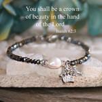 Crown of Beauty Freshwater Pearl Bracelet