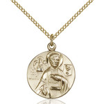 14kt Gold Filled St. John the Evangelist Pendant