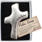Faith Moves Mountains Palm Cross