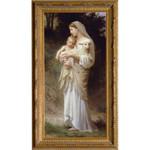 L'Innocence by Bouguereau, Gold Frame