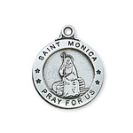 Sterling Silver St. Monica Pendant - 2600327 thumbnail 1