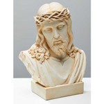 Ecce Homo Jesus Alabaster Bust