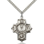Sterling Silver 5-Way / Air Force Pendant