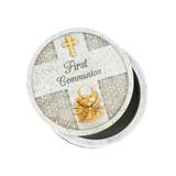 First Communion Symbols Keepsake Box