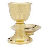 Chalice with Footed Paten