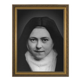 St. Therese w/ Gold Frame