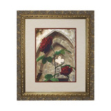 Roses w/ Ornate Gold Frame