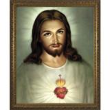 Sacred Heart w/ Gold Frame