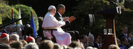 Highlights from Pope Francis' First Day in the USA (Washington, D.C.)