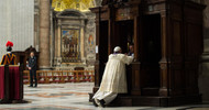 "Pope Francis Challenges You: ""Go to Confession"""