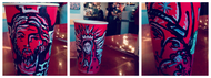 Those Red Starbucks Cups? They Make the Perfect Canvas!