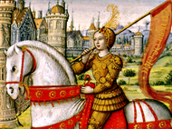 St. Joan of Arc: The Peasant Girl Who Led the French to Military Victory