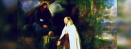 Praying with a Crucifix Like a Saint