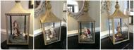 Catholic Christmas Decorating Idea: One Lantern, Four Ways!