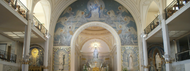 Inside the Chapel of Our Lady of the Miraculous Medal