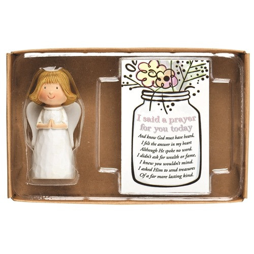 I Prayed For You Angel With Prayer Card