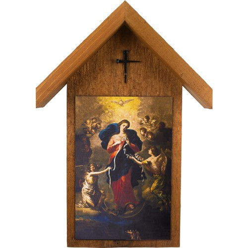 Mary Untier of Knots Outdoor Polywood Shrine