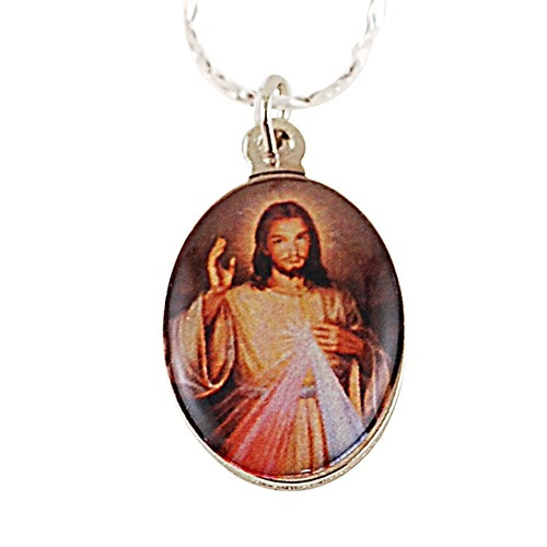 Divine Mercy Color Medal