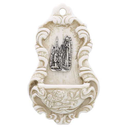 Small Lourdes Holy Water Font