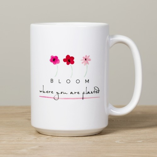 Bloom Personalized Mug
