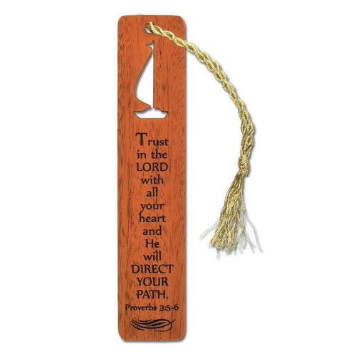 Mahogany Trust Bookmark