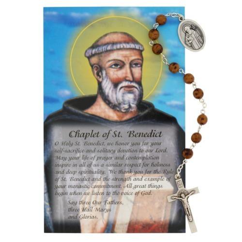 Benedict Chaplet w/ Prayer Card
