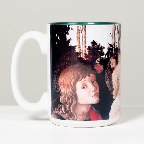 Virgin and Child Boticelli Mug