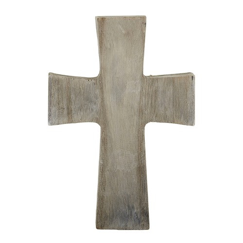 Gray Wood Standing Cross - Medium