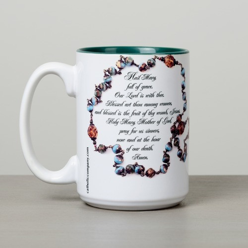 Our Lady of Guadalupe Hail Mary Mug