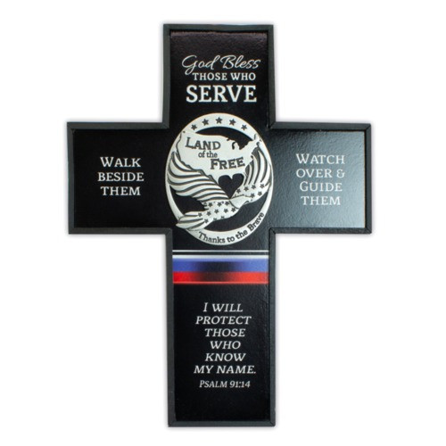 Armed Forces Blessings Cross