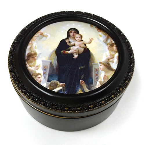 Bouguereau Queen of the Angels Keepsake Box