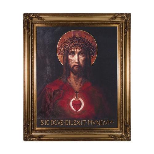For God So Loved the World w/ Gold Frame (24x30)