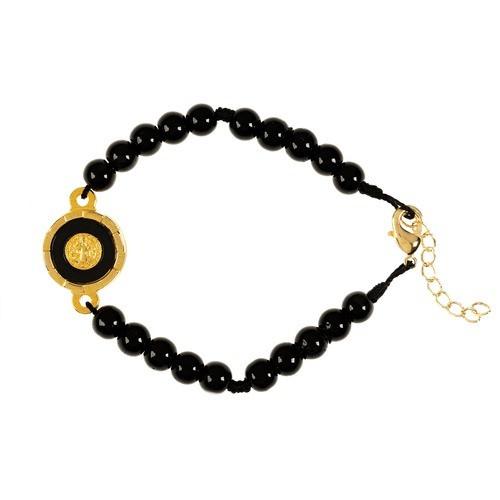 Black St. Benedict Bracelet
