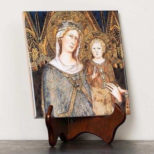 Maesta Madonna Tile
