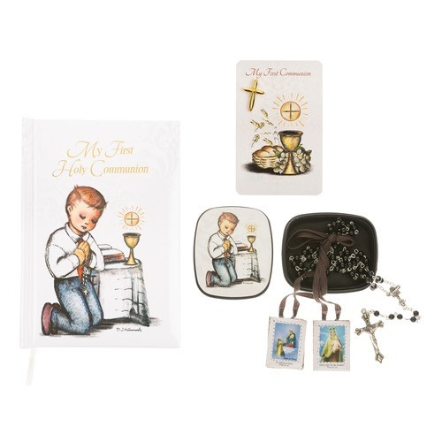 Boy's First Communion Hummel Artwork Gift Set