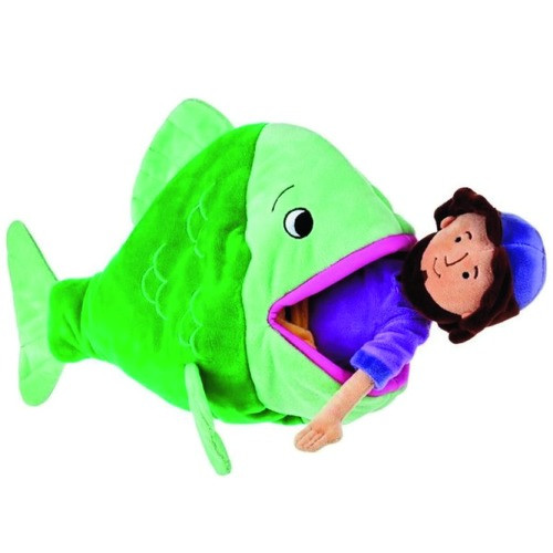 Jonah and the Big Fish Plush Toy