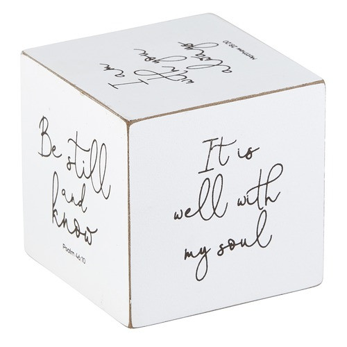 Be Still & Know Scripture Cube