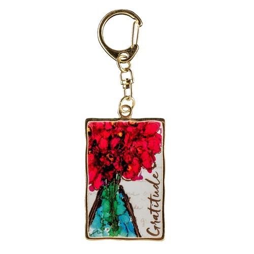 Artful Gratitude Keychain