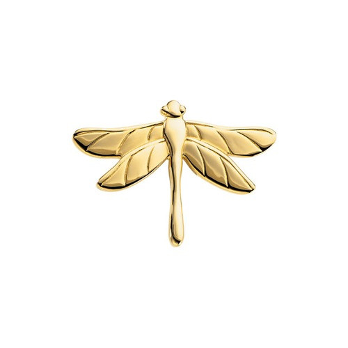14Kt Yellow The Dragonfly Brooch 31.75X23