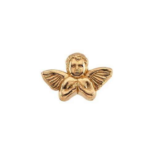 14Kt Yellow Praying Angel Lapel Pin 11X16
