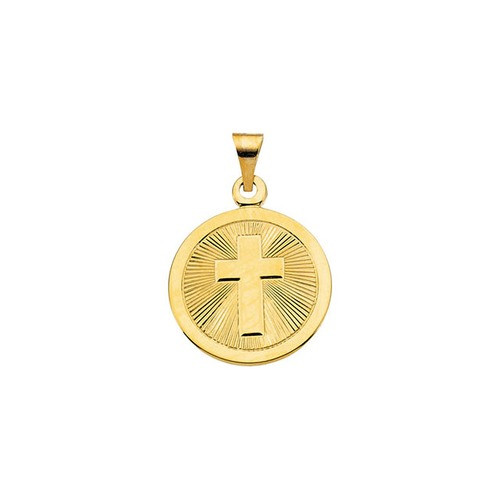 14kt Yellow Gold Confirmation Medal (19mm)