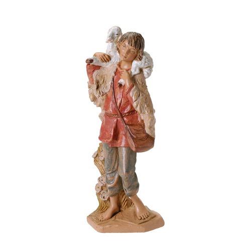 "Fontanini Gabriel with Lamb Figure 12"" Scale"