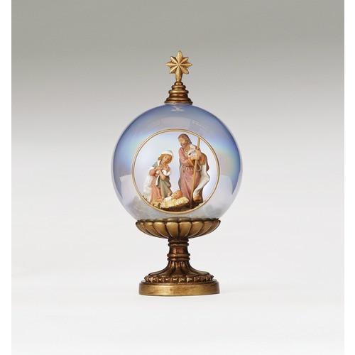 Fontanini Glass Nativity Globe