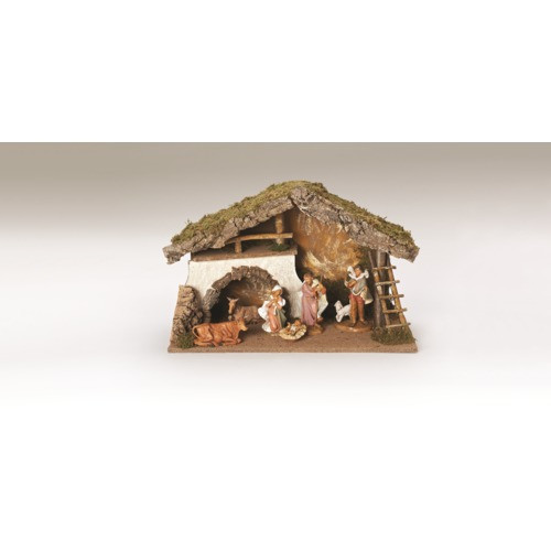"""""""Fontanini 6-Piece Nativity Set with Stable  - 7.5"""""""""""""""